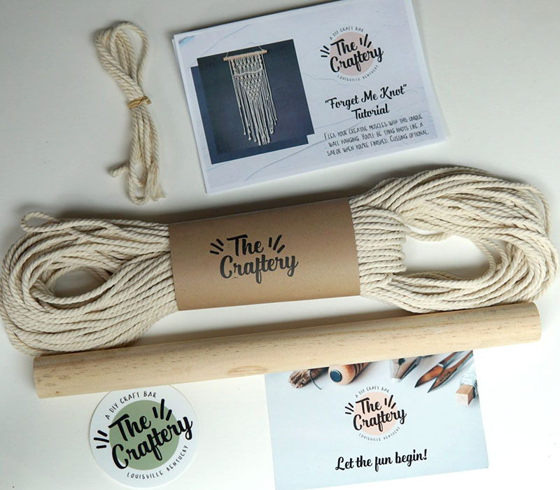 Macrame craft kit