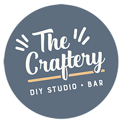 The Craftery DIY bar logo